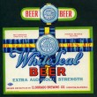 White Seal Beer Label