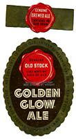 Golden Glow Ale Beer Label