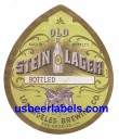 Old Stein Lager Beer Label