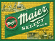 Maier Select Pale Beer Label