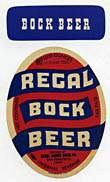 Regal Bock Beer Label