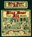 Blue Boar Nut Brown Ale Beer Label