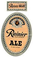 Rainier Old Stock Ale Beer Label