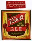 Tivoli Old Style Ale Beer Label