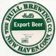 Hulls Export Beer Label