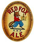 Red Fox Ale Beer Label