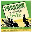 Park Row Premium Ale Beer Label