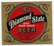 Diamond State Pure Grain Beer Label
