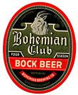 Bohemian Club Bock Beer Label