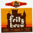 Fritz Brew Beer Label