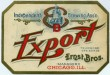 Export Beer Label