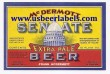 Senate Extra Pale Beer Label