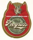Progress Beer Label