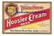 Tiger Brew Hoosier Cream Beer Label