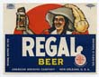 Regal Beer Label