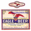Eagle Beer Beer Label