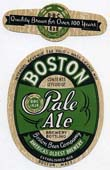 Boston Pale Ale Beer Label