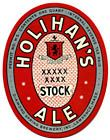 Holihan's Stock Ale Beer Label
