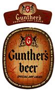 Gunthers Beer Label