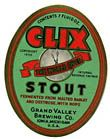 Clix Stout Beer Label