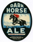 Dark Horse Ale Beer Label