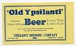 Old Ypsilanti Beer Label