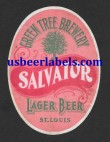 Salvator Lager Beer Beer Label