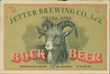 Jetter Bock Beer Label