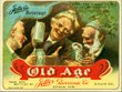 Old Age Beverage Beer Label