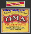 OMA Beer Label