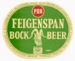 Feigenspan Bock Beer Beer Label
