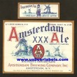 Amsterdam Ale Beer Label