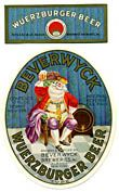 Beverwyck Wuerzburger Beer Label