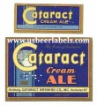 Cataract Cream Ale Beer Label