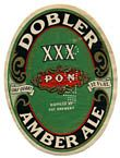 Dobler Amber Ale Beer Label