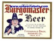 Burgomaster Beer Label