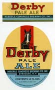 Derby Pale Ale Beer Label