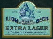 Lion Extra Lager Beer Label