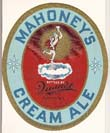 Mahoneys Cream Ale Beer Label