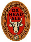 Ox Head Ale Beer Label