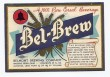 Bel Brew Beer Label