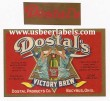 Dostals Victory Brew Beer Label