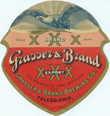 XXX Export Beer Label