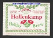 Hollenkamp Holiday Brew Beer Label
