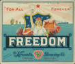 Freedom Beer Label