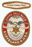 Leisys Extra Pale Beer Beer Label