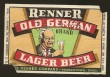 Old German Beer Label