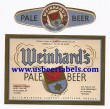 Weinhards Pale Beer Beer Label