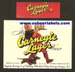 Carnegie Lager Beer Label