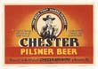 Chester Pilsner Beer Label